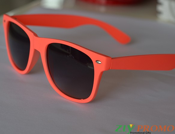 Sonnenbrille Neon Orange