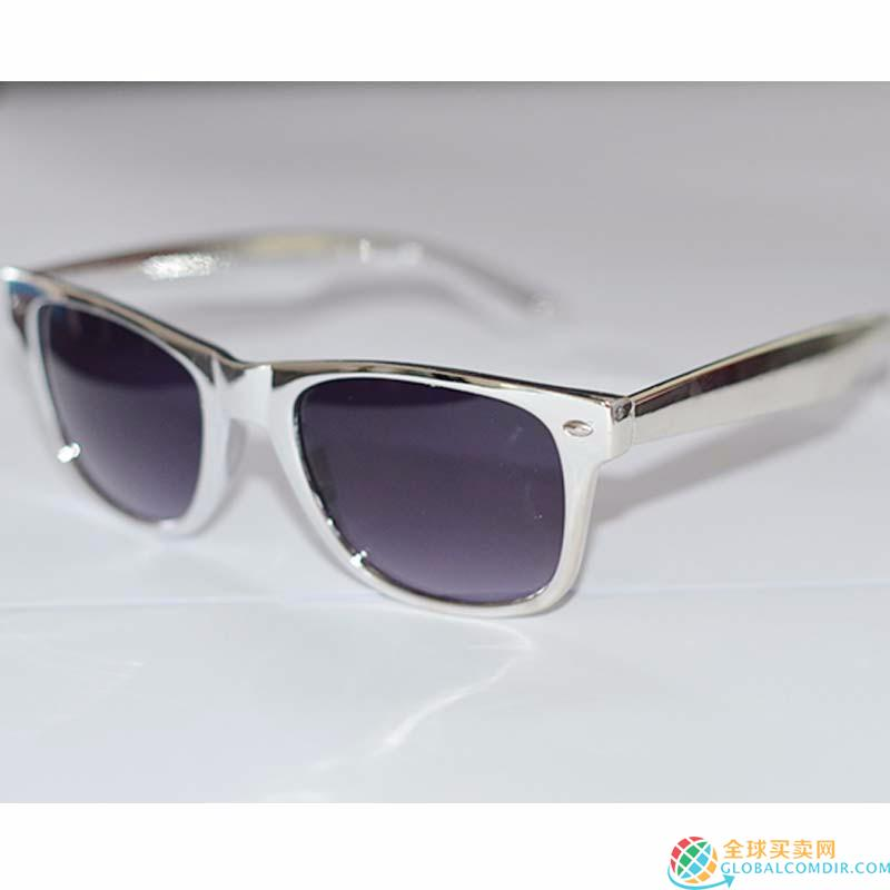 Custom Silver Sunglasses with  LOGO