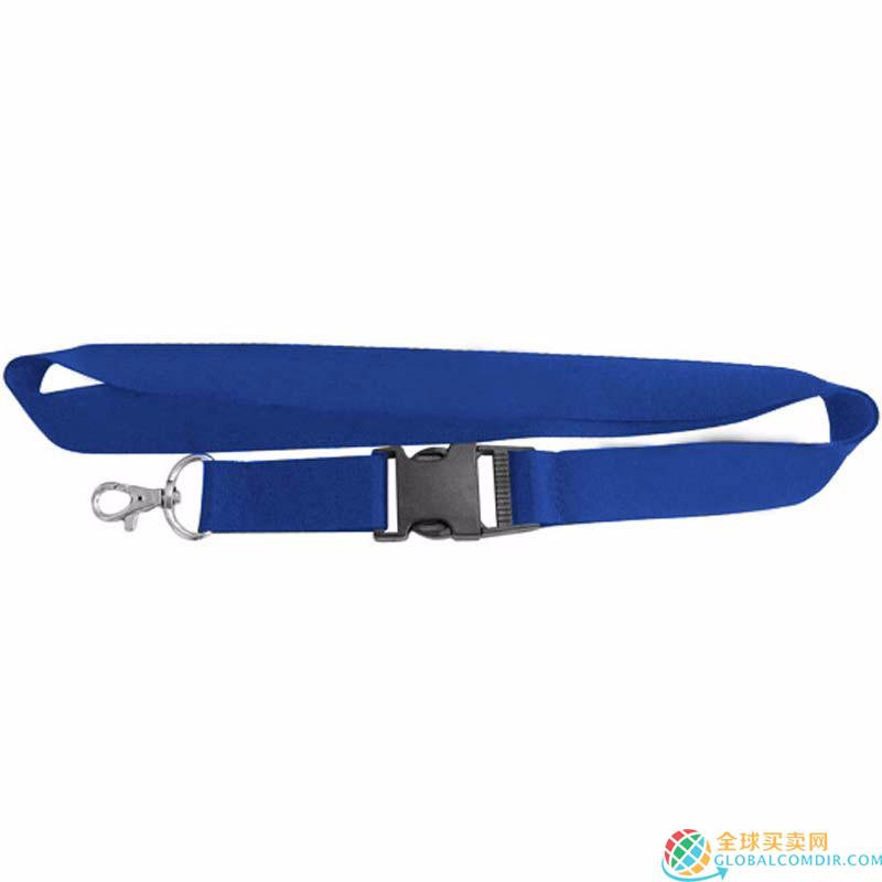Custom Blue Lanyard with Corporate LOGO