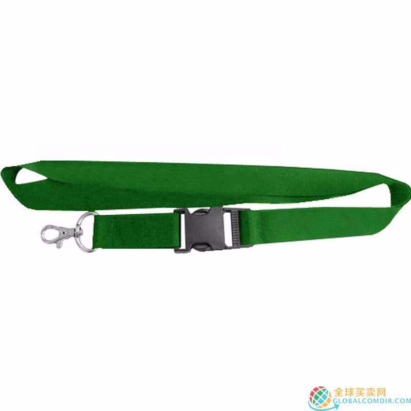 Custom Green Lanyard with Corporate LOGO