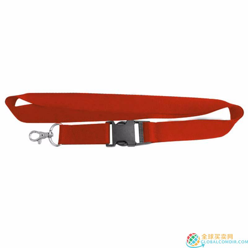 Custom Red Lanyard with Your LOGO