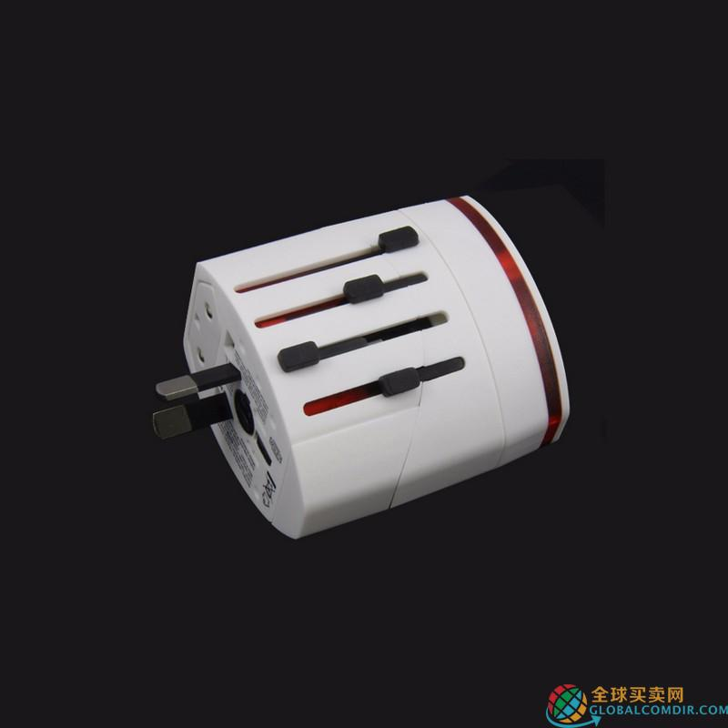 Custom Universal Travel Adapter  Can with LOGO