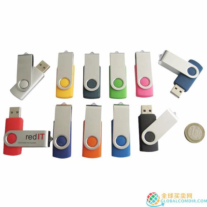 Personalized and Branded 9001-USB Flash Drives Metal Hot Sale 2018