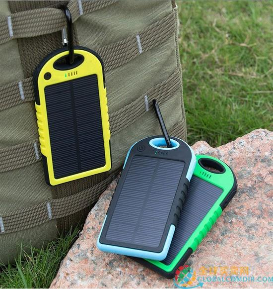 Solar Power Bank 6000 mAh bedrucken