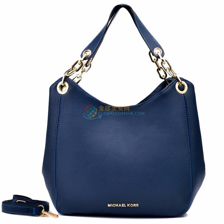 Michael Kors Bedford Large Navy Blue