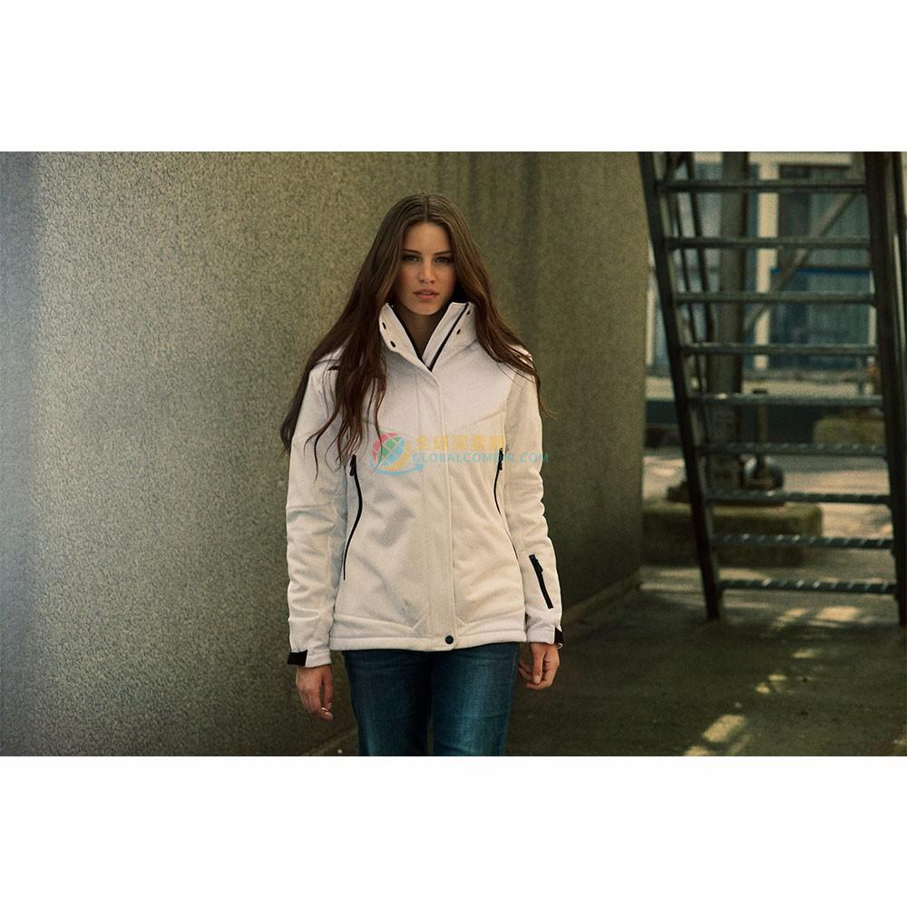 James Harvest Softshelljacke Skeleton Lady mit Ihrem Logo/Text als Werbeartikel/Werbemittel