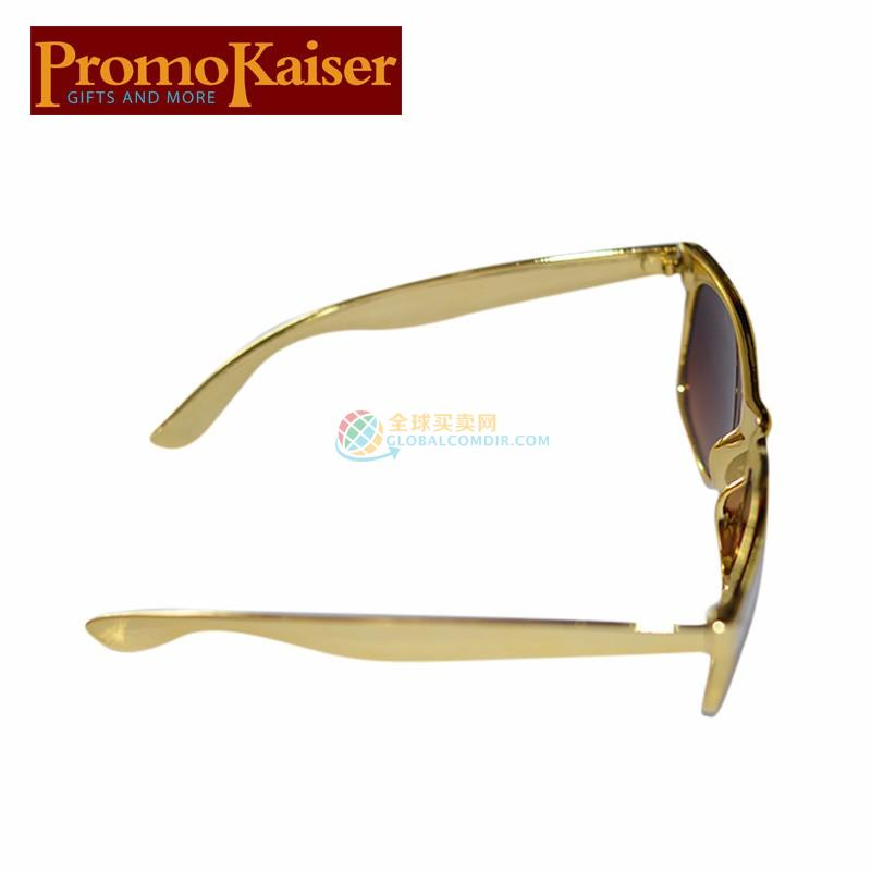 Custom Glod Sunglasses with Company LOGO