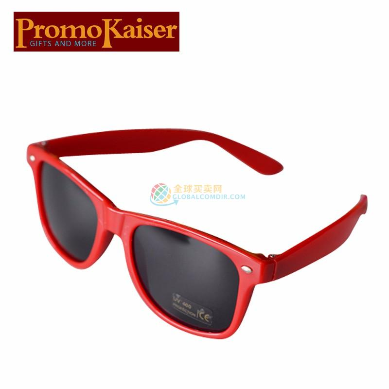 Custom Red Sunglasses with Corporate LOGO
